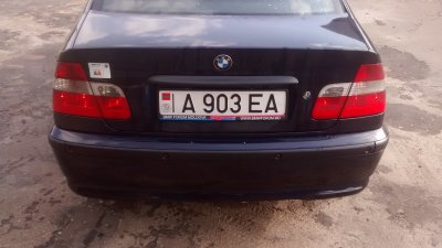 E46 320dA 2004 Shadow, Exclusive