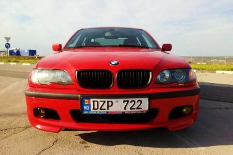 BMW 320d Jappanrot :)